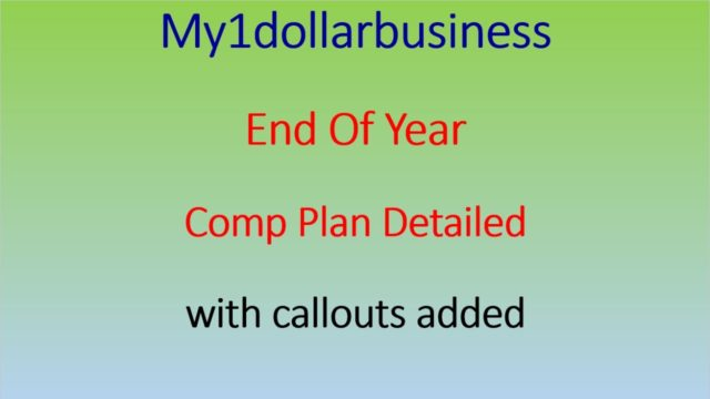 My1dollarbusiness Compensation.  An Ingenious Opportunity – my one dollar business.